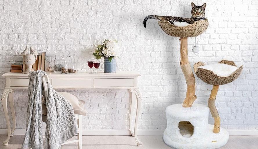 Cómo acertar con el diseño de tu nuevo árbol para gatos