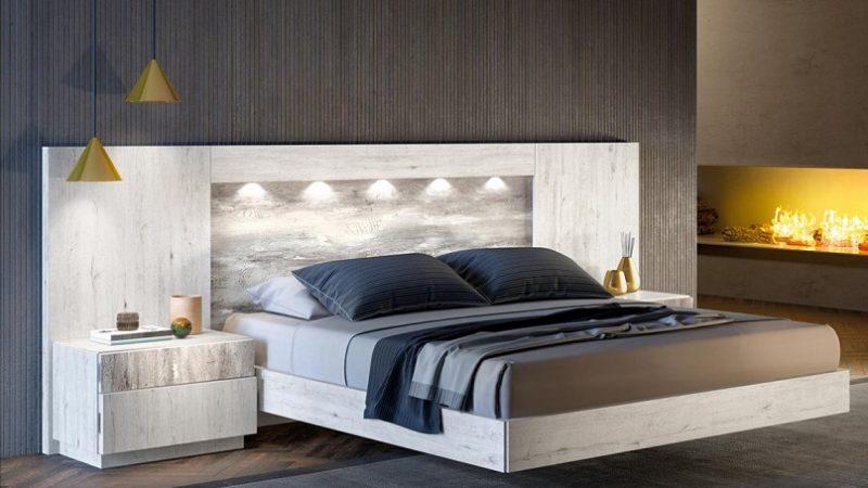 Cómo hacer un cabecero luminoso para tu dormitorio