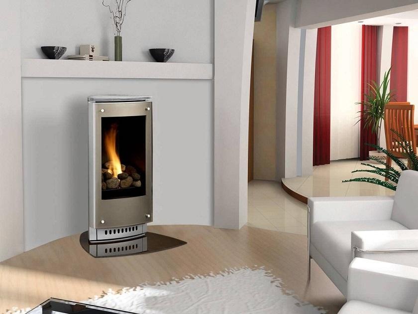 Estufa de gas contemporánea: ¡lo mejor del diseño!
